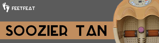 Soozier Tan Foot Spa Banner