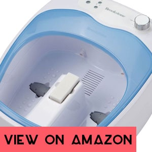 Brookstone Heated Aqua Jet Small Intro