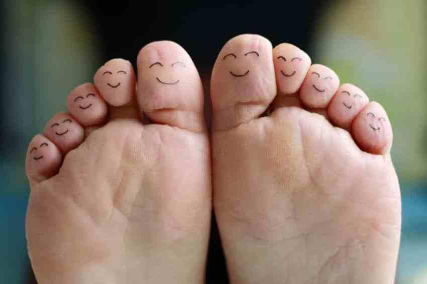 Happy Feet From ACV Foot Soaks