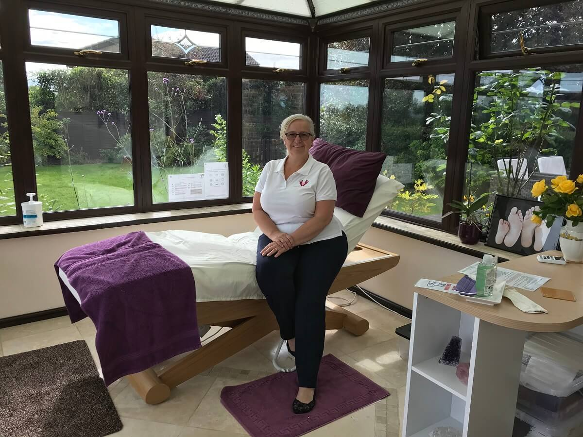 Restore with reflexology and reiki