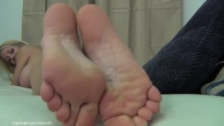 Foot Tease And Smell My Soles Vid