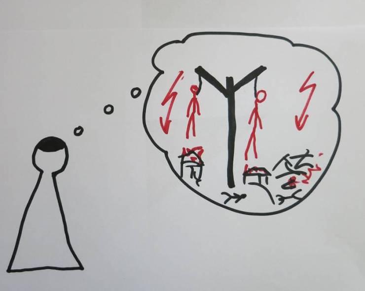 Der Prophet bekommt die Prophetische Schau (Vision; Reden Gottes)