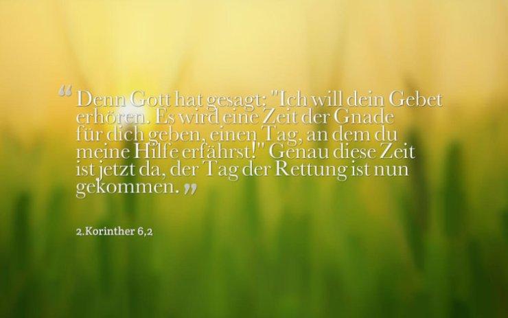 Wochenspruch 45 / 2016: Denn Gott hat gesagt: