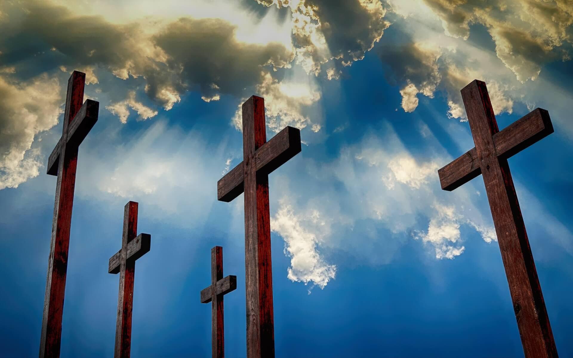 Kreuze und Himmel. Wer ist Jesus?