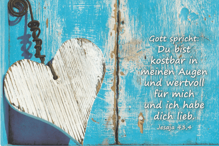 #GaK2018   Der liebende Vater   Gott spricht: Du bist kostbar in meinen Augen und wertvoll für mich und ich habe die lieb. - Jesaja 43,4