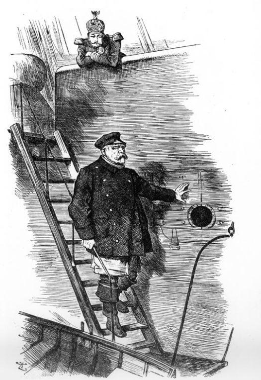 Der Loste geht von Bord (Dropping the Pilot (John Tenniel))