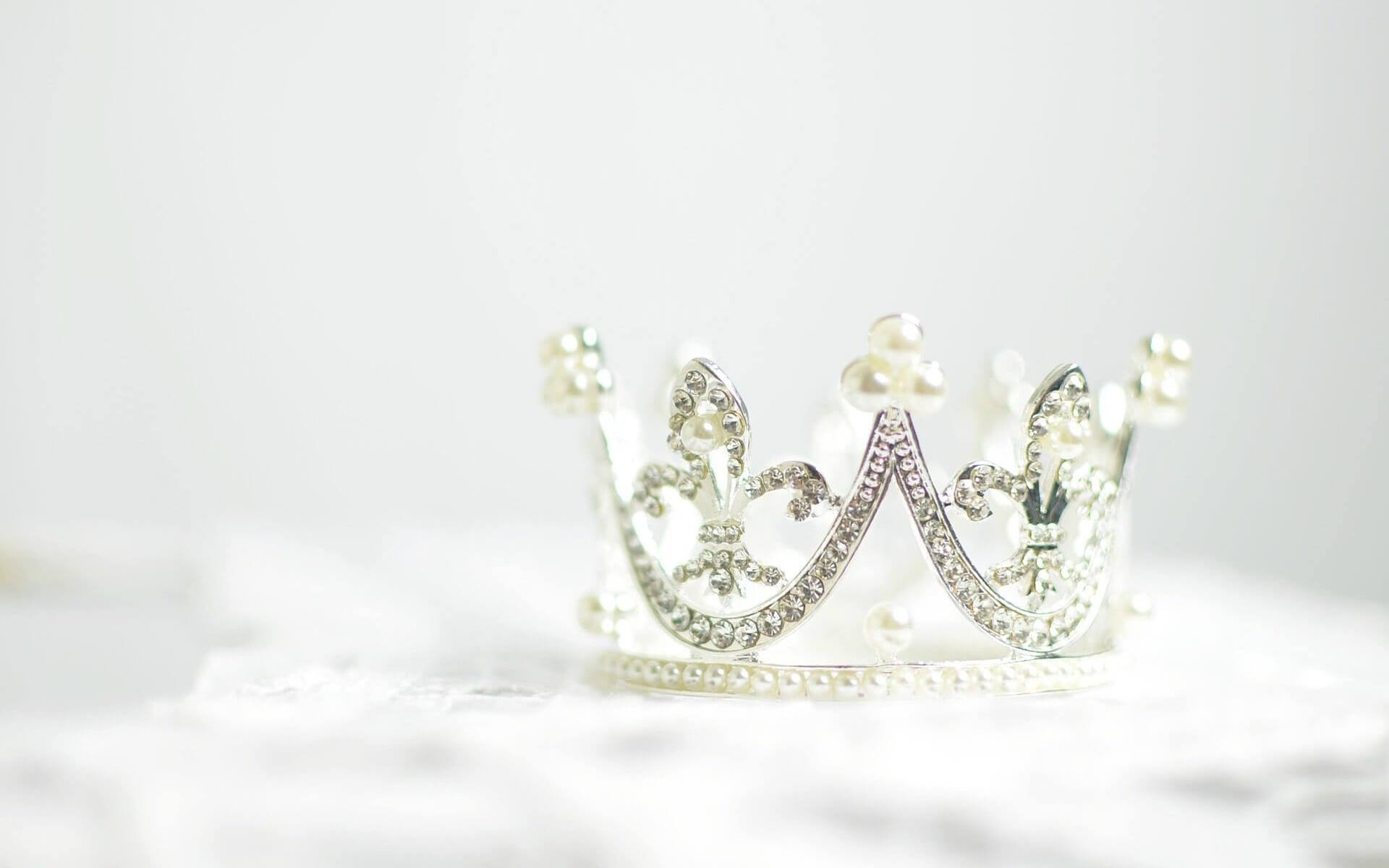 Krone. Symbol für das Reich Gottes.