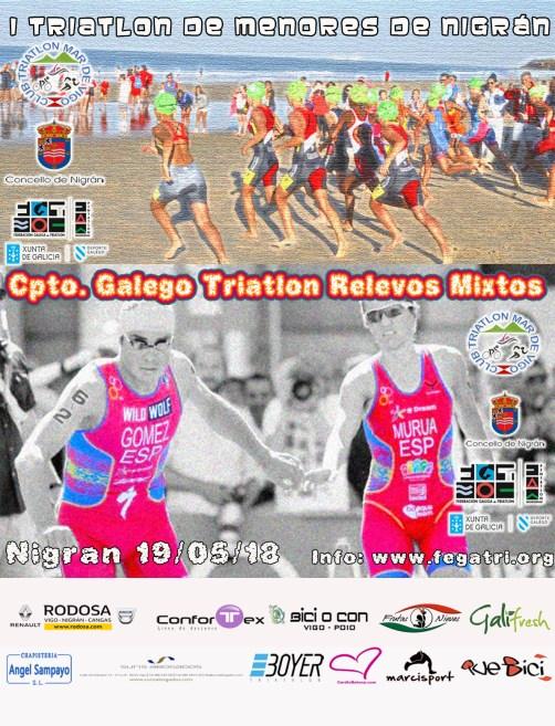 Campeonato Gallego Triatlón Relevos Mixtos Nigán