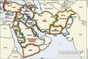 Ralph Peters'in haritası (2005)
