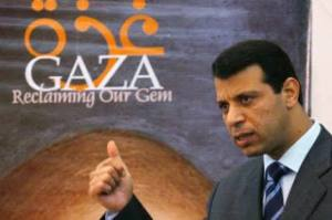 Mohammed Dahlan, Gazzeli politikacı