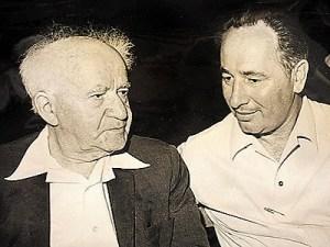Ben-Gurion ile Peres: Daha ilk günden...