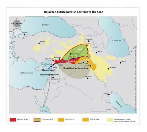 PKK/PYD nihai haritası?