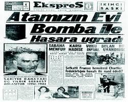 İstanbul Ekspres'in 6 Eylül 1955 tarihli özel baskısı