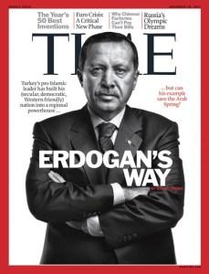 CB Erdoğan, TIME dergisi kapağında... Kasım 2011
