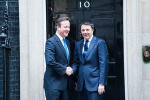 Cameron ve Renzi.. Henüz 41 yaşındaydılar..