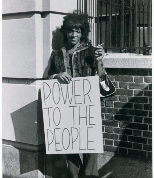 #anonymouswasawoman: #HERstory: Marsha P. Johnson, the hero. Not some white man.