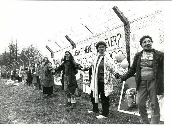#anonymouswasawoman: #HERstory: The women's Greenham Common peace protest began
