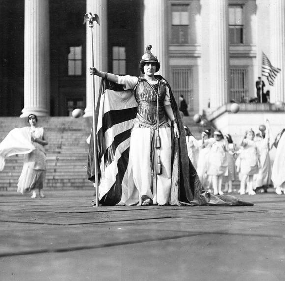 #picturethis: #anonymouswasawoman: #HERstory: 100 Years Ago, The 1913 Women's Suffrage Parade (Washington DC)