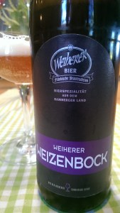 Weiherer Weizenbock - Brauerei Kundmüller