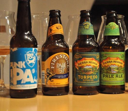 Kleine Degustation mit großen Bieren