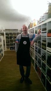 Der Chef im Getränkefeinkost: Kai Charkiewicz