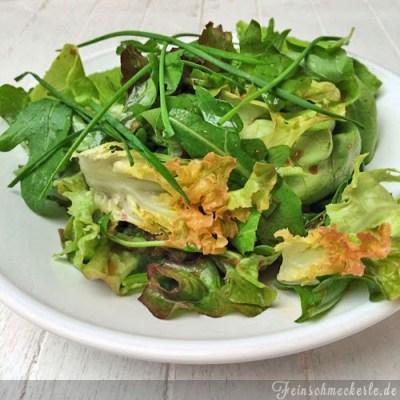 Grüner Salat mit Kräutern nach Alain Ducasse #ducassetour