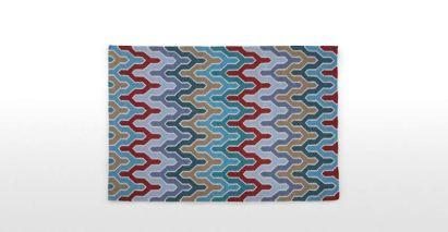Flamestitch rug £249.00 - Made.com