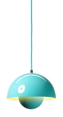 BRIGHT – &Tradition Flowerpot pendant in mint, £179.00 from Rume