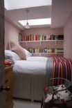 Bedroom in Calamine by Farrow & Ball