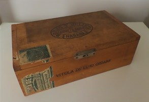 Cigar box from The Hive