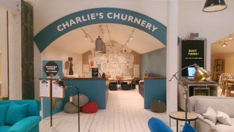Charlie's Churnery at the Loaf Battersea shack