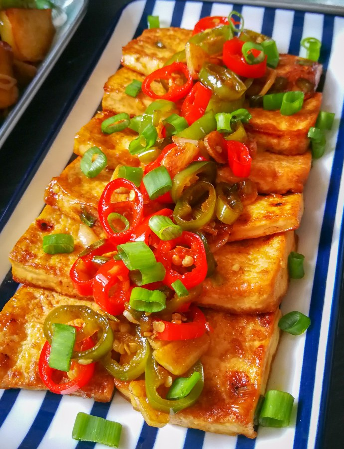 Savory Fried Tofu