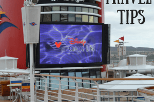 10 Travel Tips when sailing on the Disney Wonder Cruise