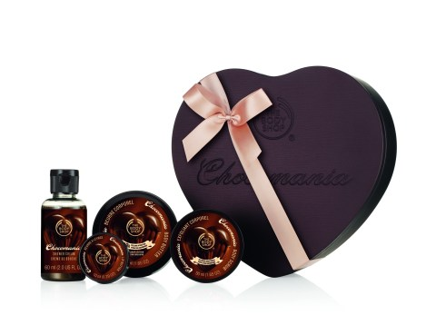 The Body Shop Chocomania products