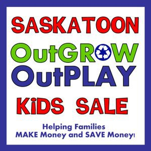 Saskatoon OutGROW OutPLAY Sale Logo