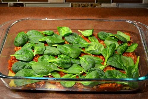 easy lasagna layering