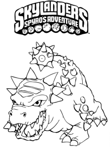 Printable Skylanders Coloring Pages Feisty Frugal Fabulous