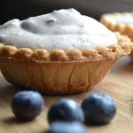 blueberry tart button