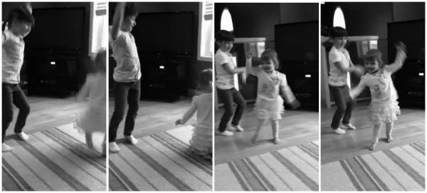 dance dance dance bw