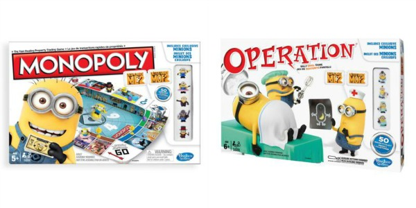 despicable me 2 games from hasbro
