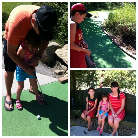 Mini Golf at COP Calgary