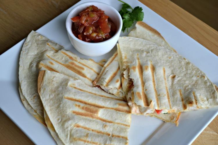 Easy Cheesy Chicken Quesadillas 1
