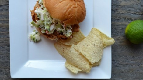 Pulled Pork with Cilantro Lime Coleslaw