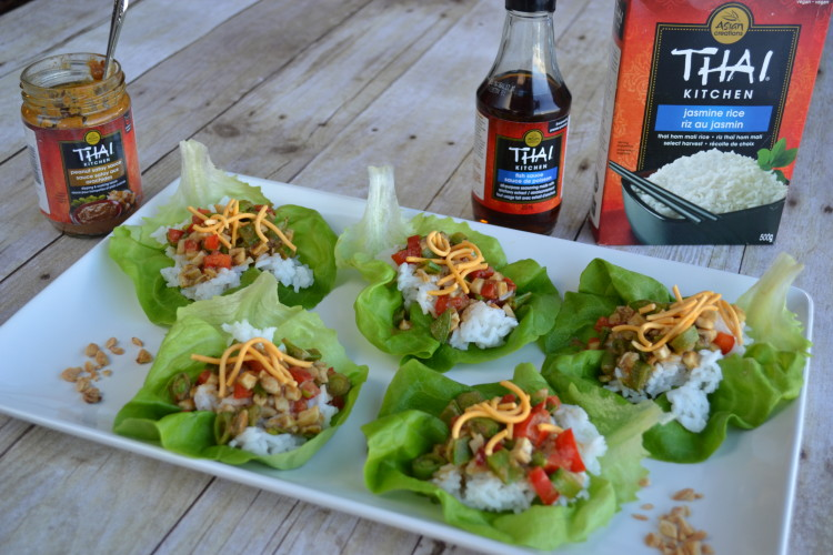 easy veggie lettuce cups recipe