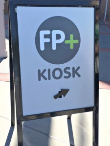 FastPass+ kiosks at disney