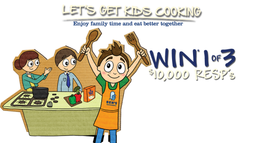 uncle bens get kids cooking contest