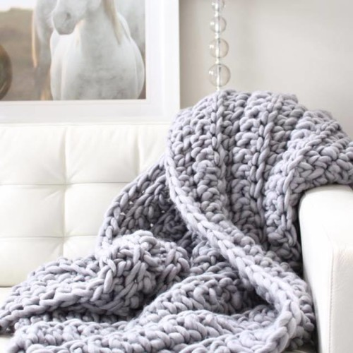 The LUXE Blanket from topknotstyle.ca