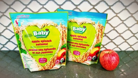 baby gourmet spinach