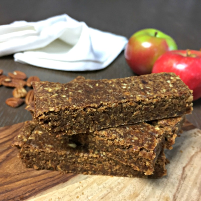 apple cinnamon energy bars