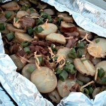 Loaded BBQ Potatoes